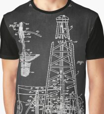 Oil Drilling Rig Graphic T-Shirt