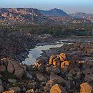 Tungabhadra river  by Guy  Berresford