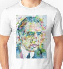 NIELS BOHR - watercolor portrait Unisex T-Shirt
