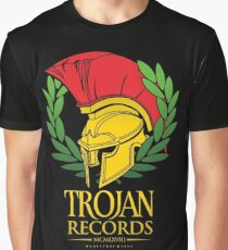TRAJAN RECORDS Graphic T-Shirt
