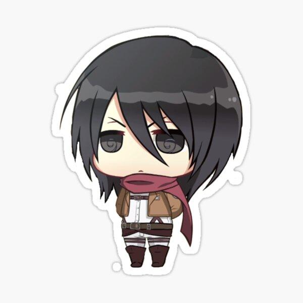 Mikasa AOT - Pegatina Pegatina