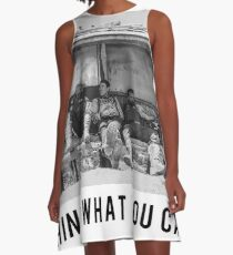 Nepal Shed - Rethink What You Can Do A-Line Dress