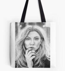 Natalie Dormer Portrait Drawing Tote Bag