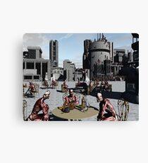 The Meat Thing Place Canvas Print