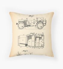 Willy's Jeep Throw Pillow