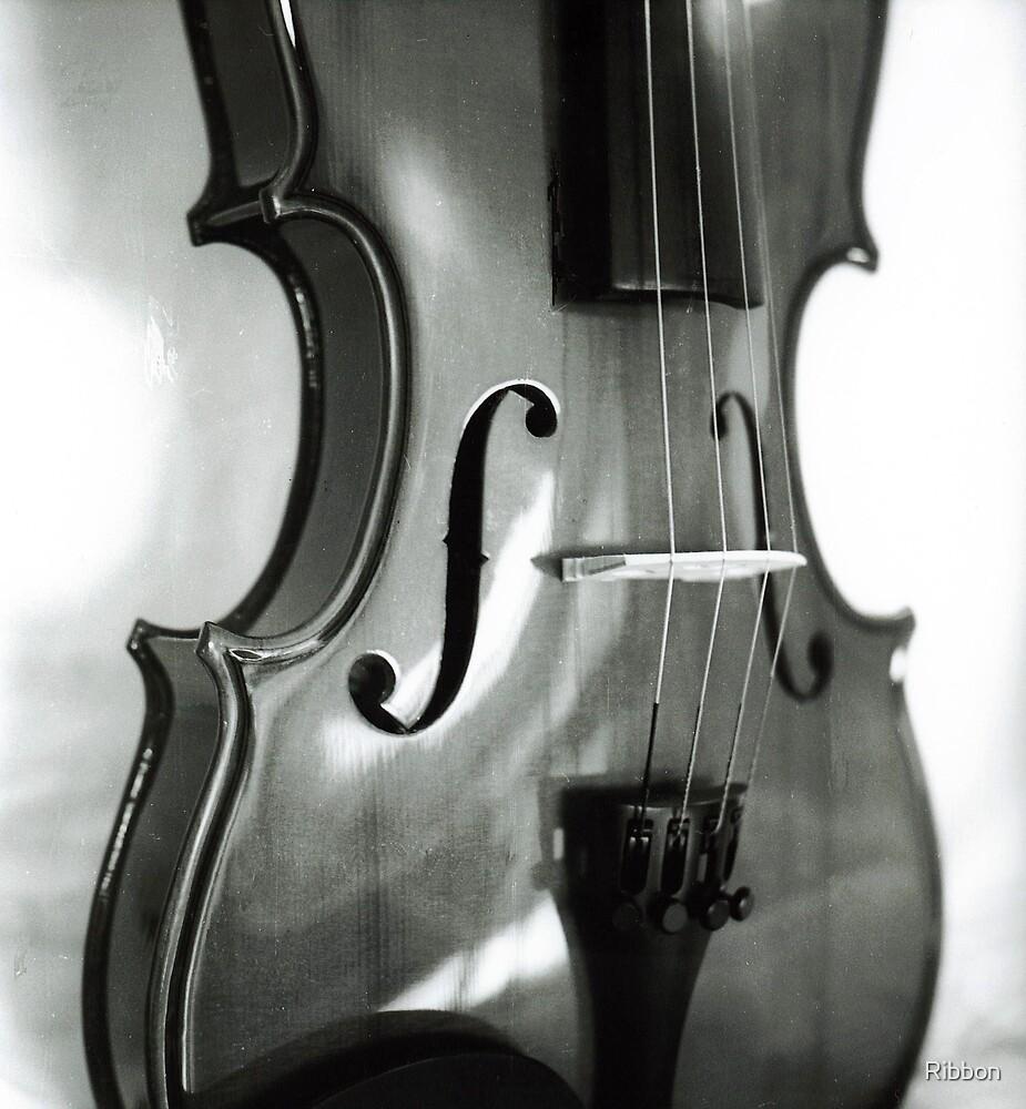Violin Body by Ribbon