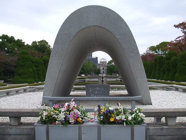 The View Through The Memorial by Francis Saunders