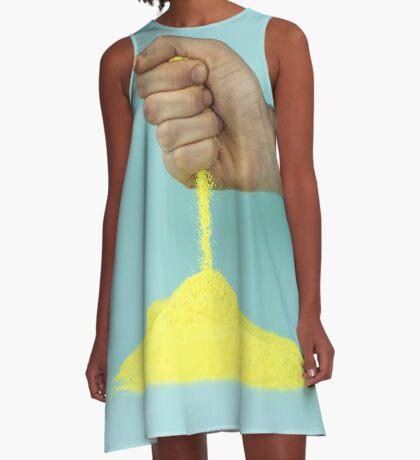 Der Wettermann A-Linien Kleid
