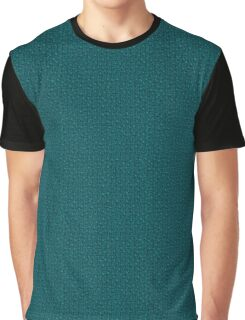 Teal Knit | Texture Graphic T-Shirt