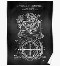 Stellar Compass Poster