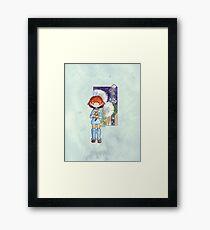 Nausicaa's Garden Framed Print