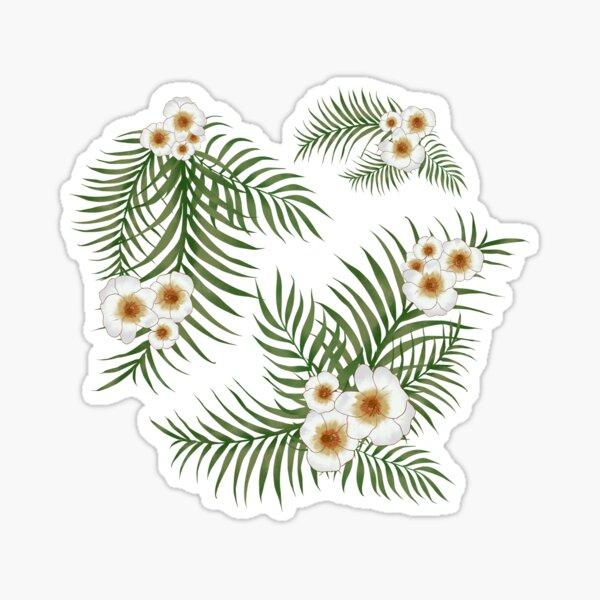 Vintage Jungle Pattern  Sticker