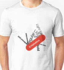 Helvetica Swiss Army knife Unisex T-Shirt