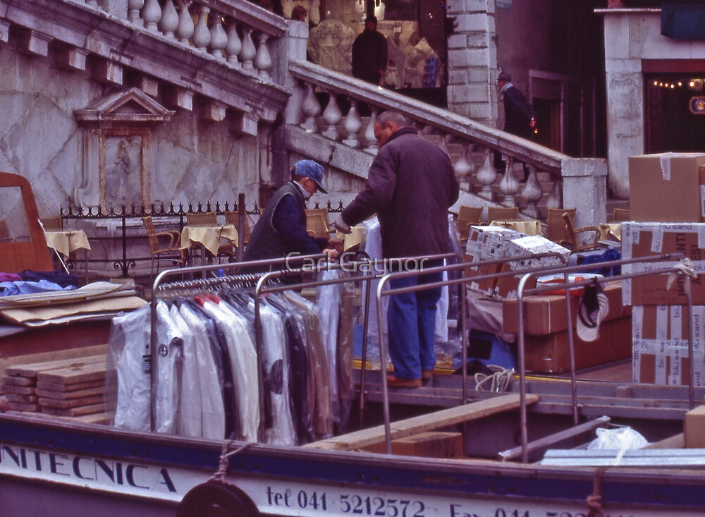 Morning Trade - Venice  by Carl Gaynor