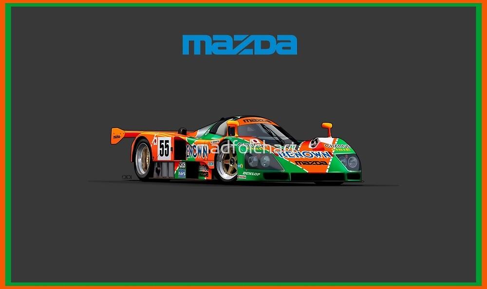 Mazda 787b by madfolchart