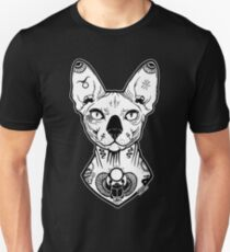 sphynx tattooed Unisex T-Shirt