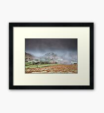 Two Valley's Snowstorm Framed Print