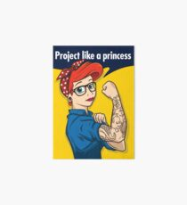 Project like a princess Art Board