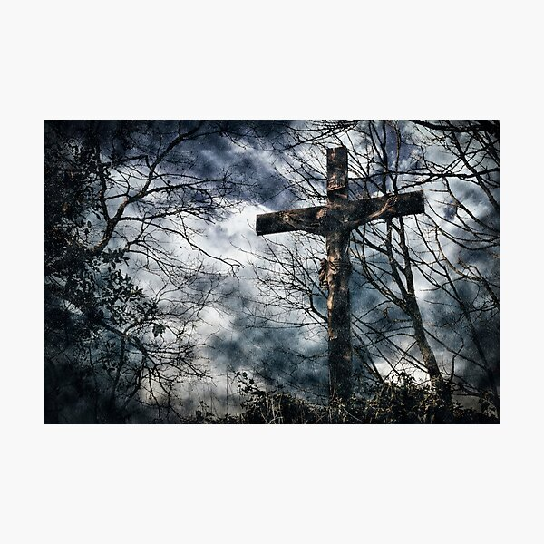 Jesus - Crucified Photographic Print
