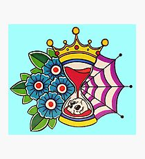 Time is King Photographic Print