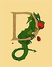 """Oscar and the Roses """"D"""" (Illustrated Alphabet) by Donna Huntriss"""