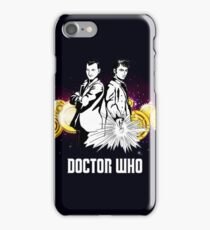 Doctor Who With Gallifrey Steampunk iPhone Case/Skin