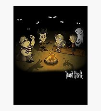 Don't Starve Campfire Photographic Print