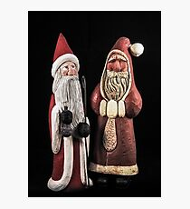 Santas For Your Holiday Photographic Print
