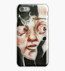 Hugged by darkness iPhone Case/Skin