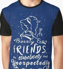 Beauty and the Beast Camiseta gráfica