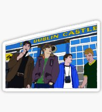 Blur at the Dublin Castle Sticker