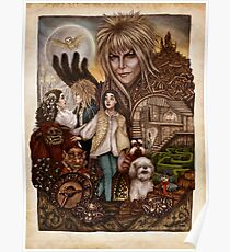 Labyrinth Tribute (Dentro del Laberinto) Poster