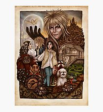 Labyrinth Tribute (Dentro del Laberinto) Photographic Print