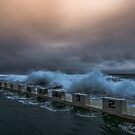 Newcastle Merewether Ocean Baths by Toni McPherson