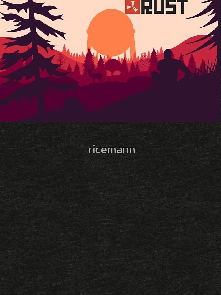 Rost Hintergrund von ricemann