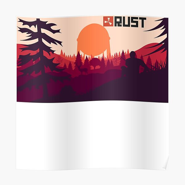 Rust background Poster