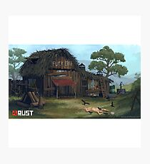 Rust House Photographic Print