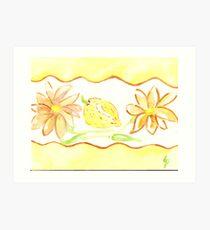 mums and lemons - kitchen rooms  Art Print