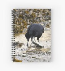 Clever crow Spiral Notebook