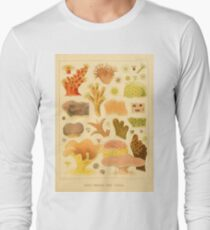 Antique Naturalist Coral  Long Sleeve T-Shirt