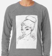 Hair bun Lightweight Sweatshirt