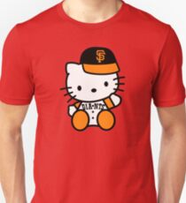 hello kitty san francisco giant Unisex T-Shirt