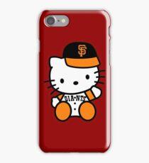 hello kitty san francisco giant iPhone Case/Skin