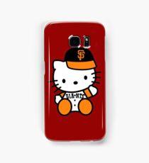 hello kitty san francisco giant Samsung Galaxy Case/Skin