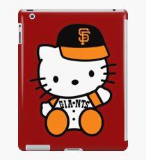 hello kitty san francisco giant iPad Case/Skin