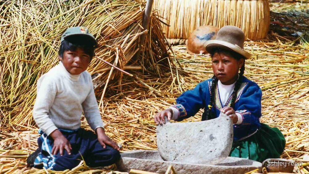 peruvian kids by ashley reed