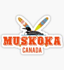 Muskoka Canada Sticker