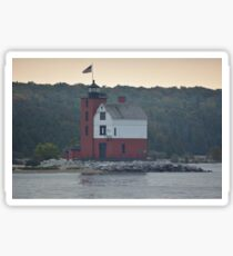 Round Island Lighthouse Sticker