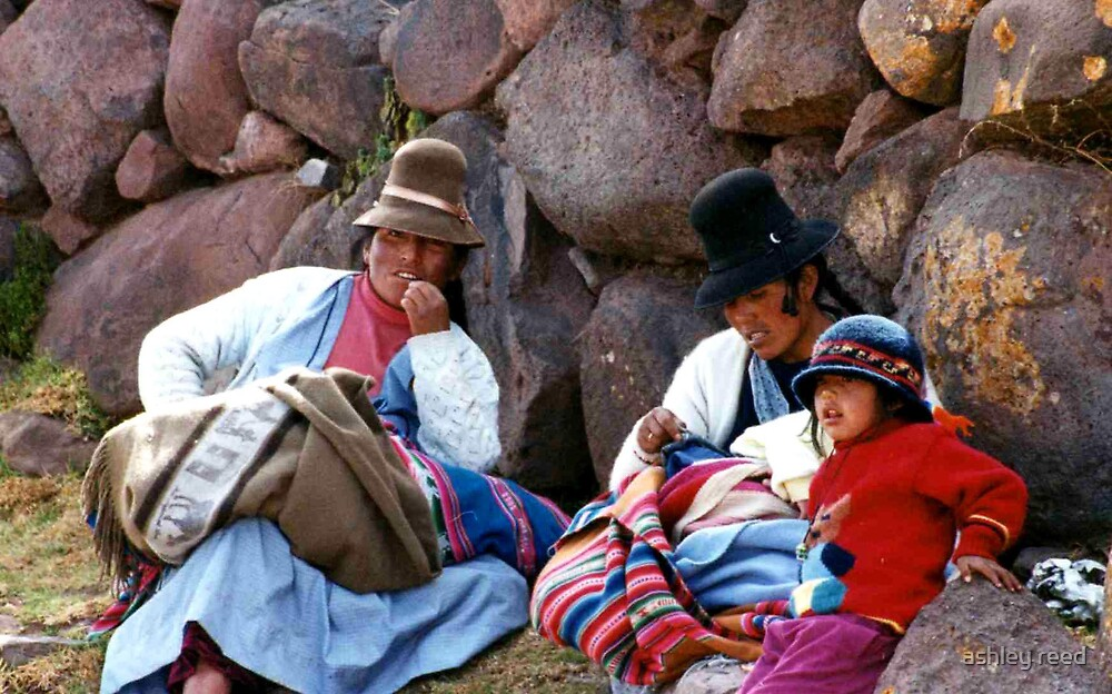 peruvian family by ashley reed