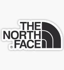 the north face logo  Sticker